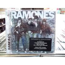 Ramones Primeiro Album Faixas Bonus Cd Importado Novo Lacrad