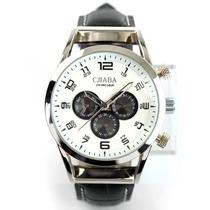 Belíssimo Relógio Cjiaba Automático Gl118 Funcional