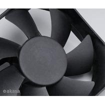 Cooler Fan 80mm Conector 4 Pinos Fonte Akasa Dfs802512h 90