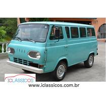 Ford Falcon Van Scooby Doo 1965 Placa Preta - Iclássicos