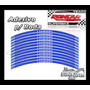 Adesivo De Roda Azul Cb 300 - Honda
