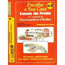 30 Projetos Casa Praia Escala 1cm = 1mt Planta Alta E Baixa