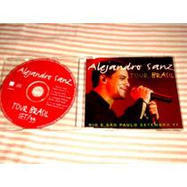 Alejandro Sanz Tour Brasil Cd Single Promo Exclusivo Brasil