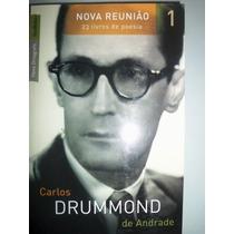 Nova Reunião Vol. 1 C/ 8 Livros De Carlos Drummond De Andrad