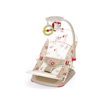 Cadeira Musical Vibratória Com Bolsa P/ Viagem Bege Mastela