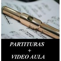 Flauta - Super Coleção Partituras E Métodos - Envio Grátis