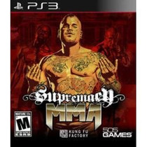 Jogo Supremacy Mma Para Ps3 Playstation 3 Pronta Entrega