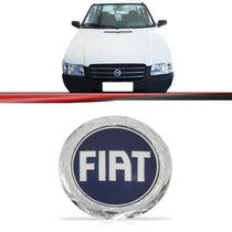 Emblema Fiat Da Grade Uno 2005 2006 2007 2008