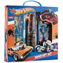 Kit Estojo Escolar Super Gift Set Tris Hotwheels 9pç