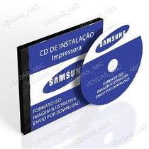 Cd De Instalação Impressora Multifuncional Samsung Scx-4600