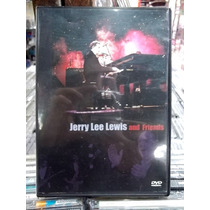 Jerry Lee Lewis And Friends Dvd Original Ótimo Estado
