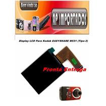 Display Lcd Para Kodak Easyshare M531 (tipo-3)