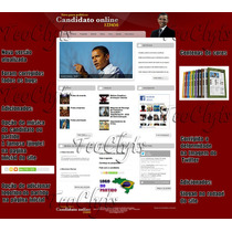 Site Php Politico Vereador Prefeito Candidato Deputado 2012