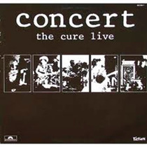 Lp - Cure - Concert - The Cure Live