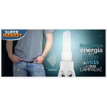 Sensor De Presença C/ Soquete Lampadas Até 60w Frete Grátis