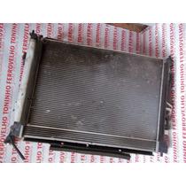 Kit Radiador Agua Ar Cond. Defletor Ventuinha Hyundai I30