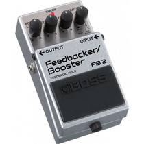 Pedal Boss Feedbacker/bosster Fb-2