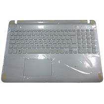 Teclado Notebook Sony Vaio Fit 15e Svf15213cbw Branco Ç Novo