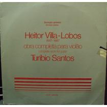 Lp.heitor Villa Lobos Turibio Santos(frete Grátis)