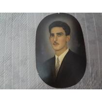 Foto Antiga Em Preto E Branco Pintado A Mão