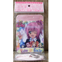 Porta Cartão E Porta Documento Com Alça Do Anime Shugo Chara