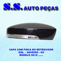 Pisca Capa Retrovisor Golf Polo 2013 Peça Original Nova