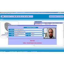 Controle De Ponto Biométrico Pela Internet (biometria)