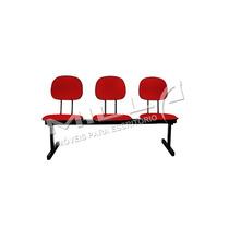 Cadeira Longarina - Igrejas - Auditório - Escola - Recepção