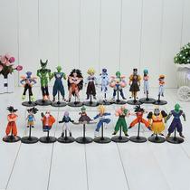 Dragon Ball Z Gt Coleção Kit 20 Bonecos Anime Goku Gohan