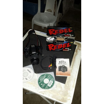 Câmera Semi Profissional Eos Rebel T3i Ef-s 18-55 Is Ii Kit
