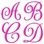 Alfabeto Monograma - Coleção Bordados Em D V D Ou Download