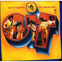 Lp Jackson Five Get It Together 1973 Motown Tapecar Nacional