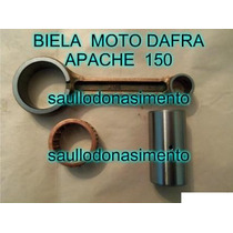 Biela Para Motor De Moto Dafra Apache 150