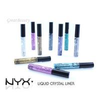 Nyx Liquid Crystal Liner Delineador Colorido Com Glitter!!!