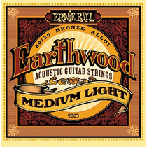 Encordoamento Para Violão 012 Ernie Ball Earthwood 2003