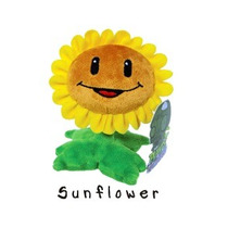 Plants Vs Zombies Pelúcia Sunflower Emite Sons Jazware