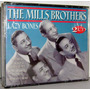 Cd The Mills Brothers - Lazy Bones ( Cd Duplo )