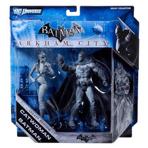 Batman Legacy Action Figures 2 Pack Batman & Catwoman B&w