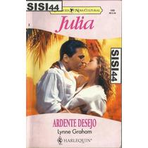Julia Ardente Desejo Lynne Graham Nº1155 Harlequin