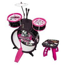 Bateria Infantil Musical Monster High Inmetro Frete Grátis