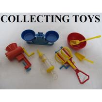 Brinquedo Antigo - Utensílios De Cozinha - Atma - Lindo !!!