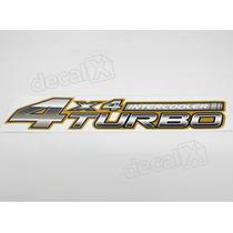 Adesivo 4x4 Turbo Intercooler Toyota Hilux 2006 !!! Decalx