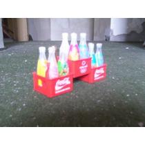 Coleção Com 12 Mini Garrafas Coca - Cola - Atenas 2004