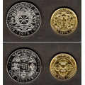 Lote 2 Moedas Do Butão 1979 0,25 E 1 Ngultrum Fc Perfeita