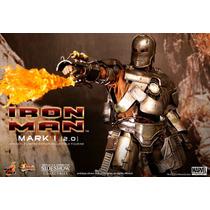 Hot Toys Iron Man Mark I 2.0 Tony Stark Avengers Vingadores