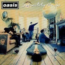 Cd Oasis - Definitely Maybe (original Sony, 1994)