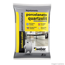 Rejunte Porcelanatos 5kgs Quarzolit Marron Cafe Extraliso