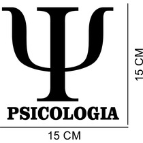 Adesivo Decorativo Automotivo Curso Psicologia Profissão