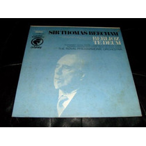 Lp Sir Thomas Beecham Orquestra Sinfonica Royal Importado Us