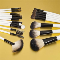 Maquiagem Kit C/ 20 Pincéis Com Estojo Pronta Entrega !!